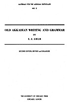 Old Akkadian writing and grammar by Ignace…