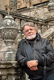 Author photo. Alfredo Conde. Photo by Eduardo Castro Bal.