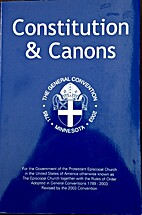 Constitution And Canons