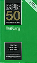British National Formulary : 50 : 2005 by…