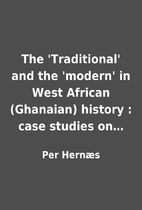 The 'Traditional' and the…