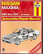 Nissan Maxima Automotive Repair Manual…