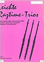 Leichte ragtime-trios by Uwe Heger