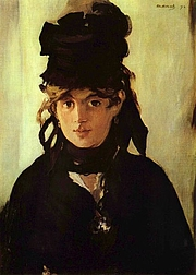 Author photo. Portrait by Édouard Manet, 1872