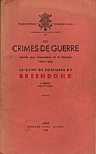 Les crimes de guerre commis sous…