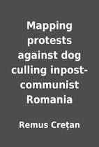 Mapping protests against dog culling…
