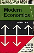 Modern Economics (College Outline) by Robert…