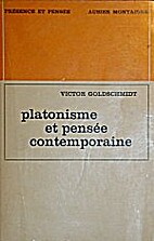 Platonisme et pensée contemporaine by…