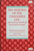 The Historie of the Damnable Life and…
