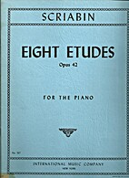 Eight etudes Op. 42 for the piano by…