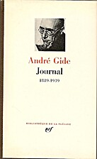 Journal 1889-1939 by André Gide