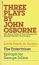 Three Plays by John Osborne