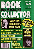 Book and Magazine Collector July 1990 - No.…