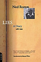 Lies : a diary, 1986-1999 by Ned Rorem