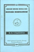 Ancient Indian Advice for Modern Management…