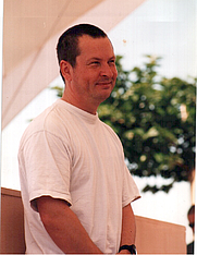 Author photo. Lars von Trier  at Cannes 2000. Photo by <a href=&quot;http://commons.wikimedia.org/wiki/User:Nikita&quot;>Rita Molnár</a>