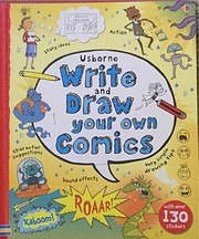 Usborne Books Write & Draw Your Own Comics