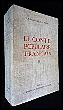 Le conte populaire français. Catalogue…