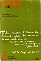 Letters of John Keats: A Selection.: A New…
