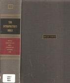 The Interpreter's Bible, Vol. 3: Kings,…