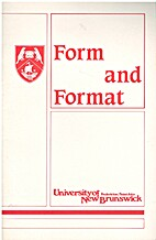 Form And Format: A Guide To The Presentation…