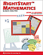 RightStart Mathematics Level A Lessons For…