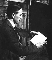 """Author photo. Lewis Grassic Gibbon, author of """"A Scot's Quair"""" and """"Nine Against the Unknown"""""""