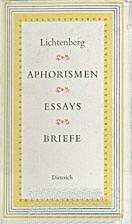Aphorismen, Essays, Briefe by Georg…