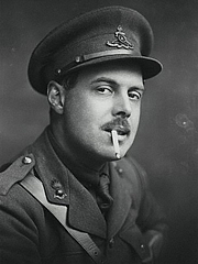 Author photo. Wyndham Lewis, photograph by George Charles Beresford, 1917.