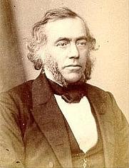 Author photo. George James Allman, circa 1860. Wikimedia Commons.