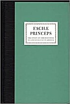Facile princeps : the story of the beginning…
