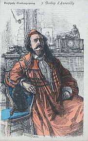 Author photo. From &quot;Revue Illustrée&quot;, 1887<br>Courtesy of the <a href=&quot;http://digitalgallery.nypl.org/nypldigital/id?1104906&quot;>NYPL Digital Gallery</a><br>(image use requires permission from the New York Public Library)