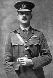 Author photo. Brigadier-General L E O Charlton CB CMG DSO RAF. Published 27 February 1919. Wikimedia Commons.