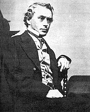 Author photo. George Templeton Strong (1820-1875) ~ Wikipedia