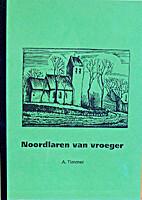 Noordlaren van vroeger. by A. Timmer