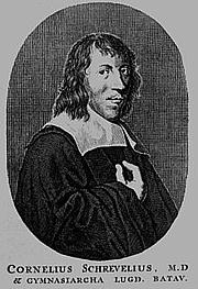 Author photo. Cornelius Schrevelius (1608-1661)