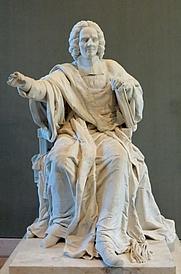 Author photo. Sculpture by Félix Lecomte, 1789,<br> Musée du Louvre, Paris, France<br> (Credit: Marie Lan-Nguyen, 2006)