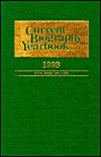 Current Biography Yearbook 1993 with index…