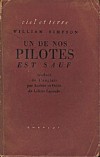 One of our pilots is safe by William Simpson