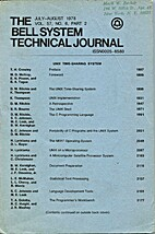 The Bell System technical journal : Unix…
