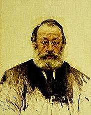 Author photo. Gottfried Keller by Karl Stauffer-Bern, 1886