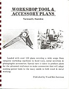Workshop tool & accessory plans by Norwood L…