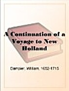 NH2. Continuation of a Voyage to New Holland…