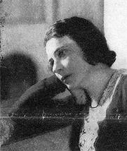 Author photo. Sarah Gertrude Millin before 1931