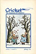 Cricket Magazine 1975 February by Cricket…