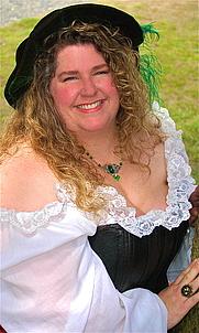 Author photo. Chantilly White