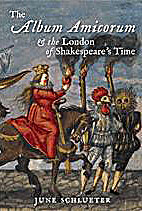 The Album Amicorum and the London of…
