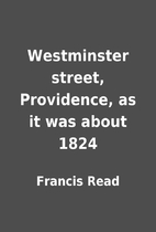 Westminster street, Providence, as it was…