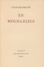 A Molna Elegy by Gunnar Ekelöf