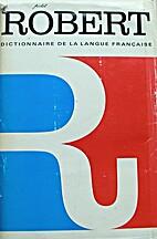 Dictionnaire alphabétique et analogique de…